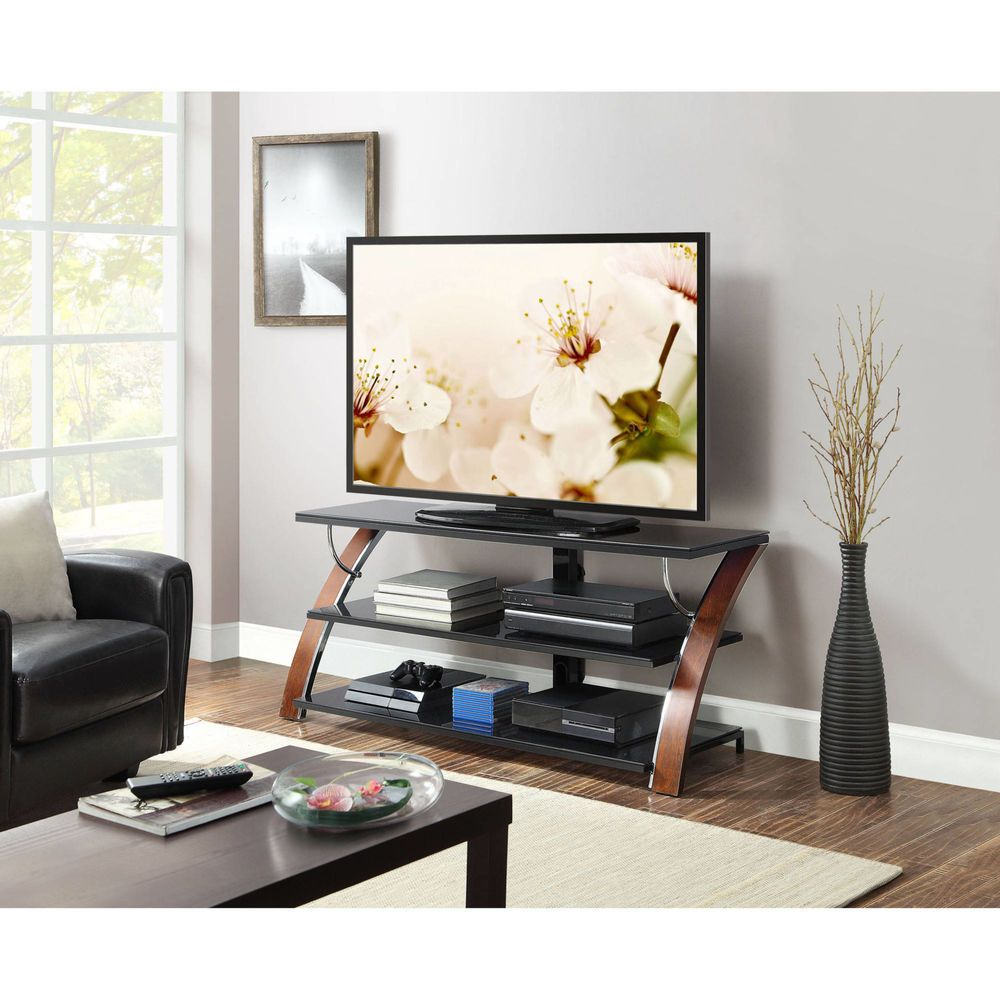 Whalen 3-in-1 Flat Panel TV Stand for TVs up to 65\