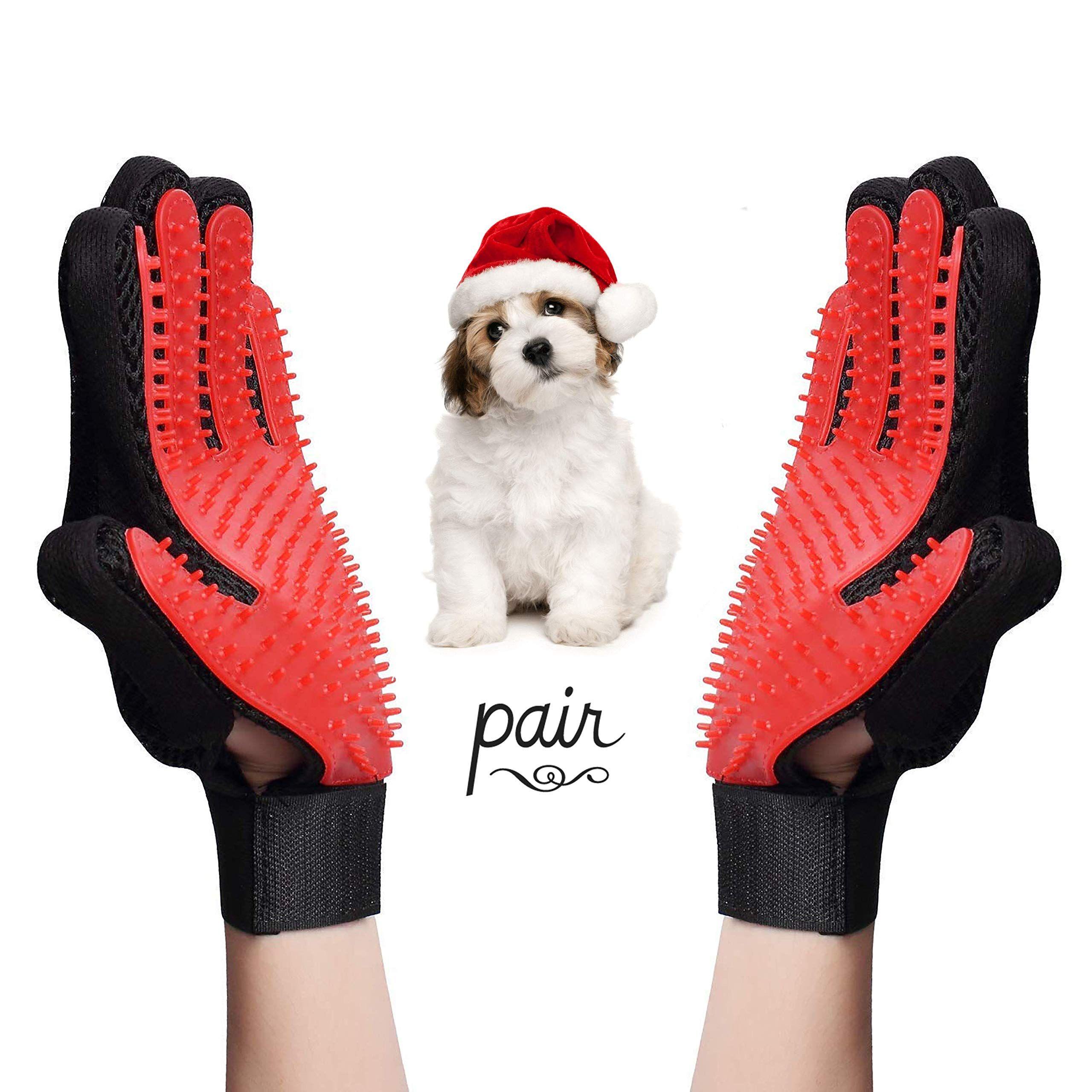 AMZ wholesale Pet Grooming Glove for Dog Deshedding Hair