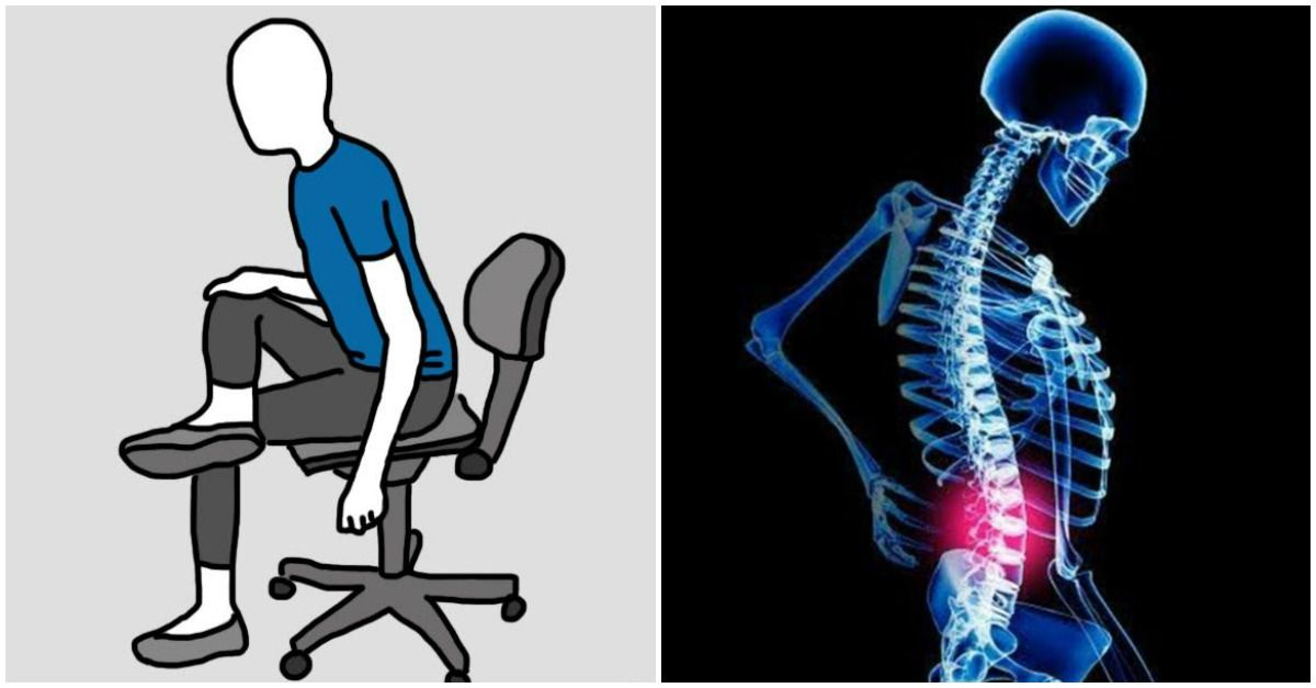 chair stretches for lower back pain