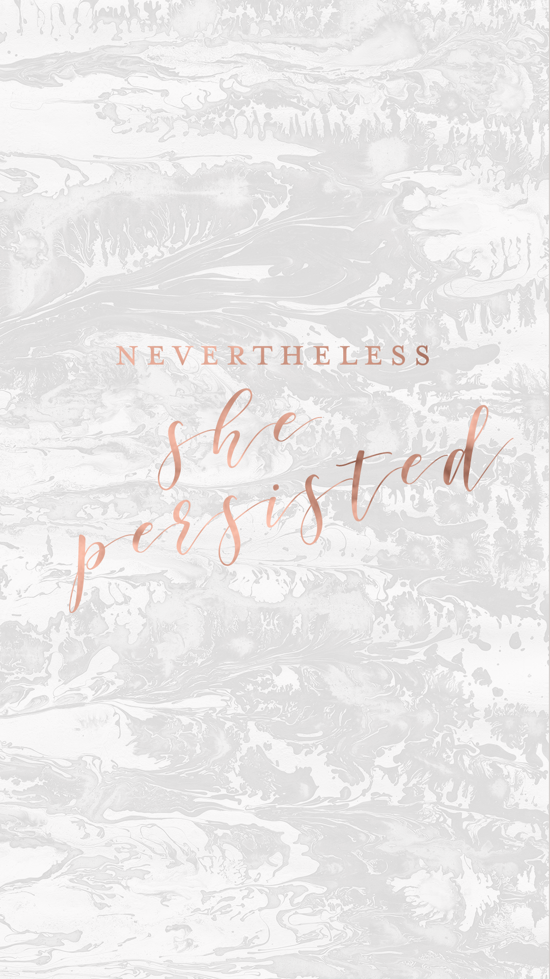 shepersisted1.png 1 080×1 920 пикс Rose gold marble