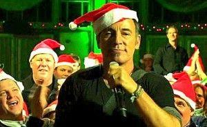 Bruce Springsteen Christmas.Christmas Carols Bruce Springsteen Santa Claus Is Comin