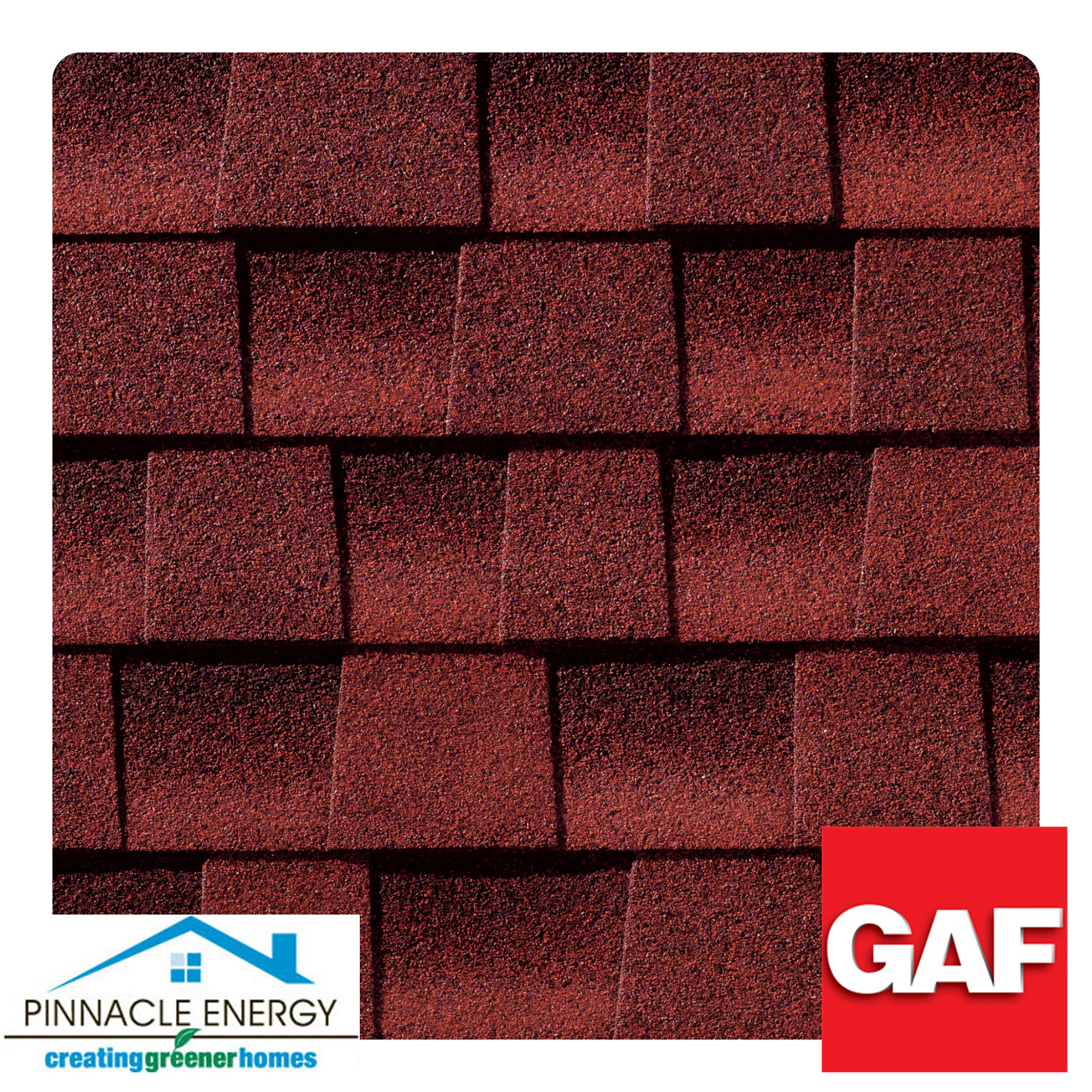 Best Patriot Red These Shingles Offer A Natural Beauty And 400 x 300