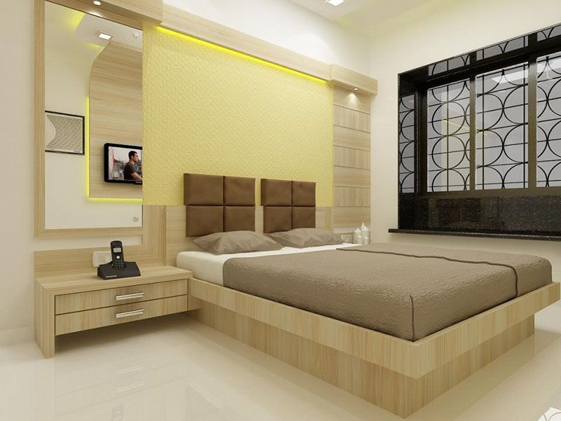Elegant Bedroom Design With Cool Colors | Loft conversion ...
