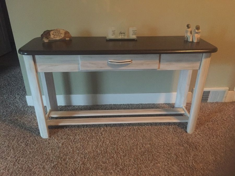 Used Wood Sofa Table Or Tv Console Or Buffet Table For Sale In Mccullom Lake Letgo Buffet Table For Sale Sofa Table Buffet Table
