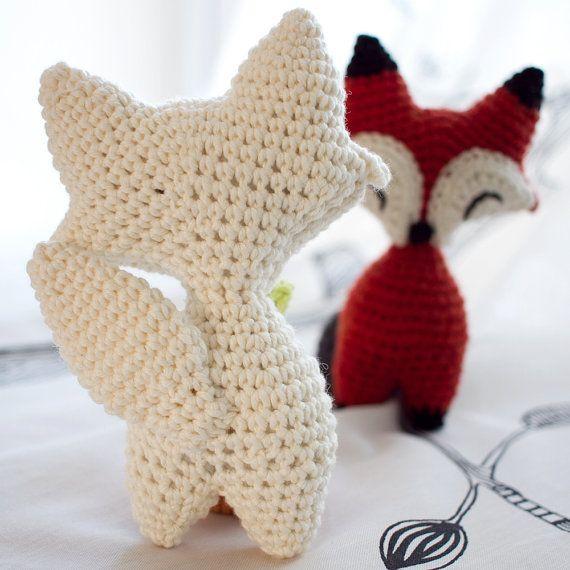 Little Fox Amigurumi : Little Fox or Wolf amigurumi crochet PDF pattern by ...