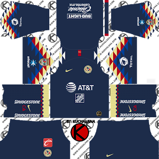 Club America 2019 2020 Kit Dream League Soccer Kits Club America Soccer Kits Club