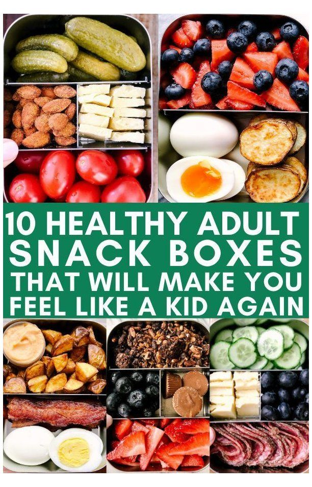 10 Healthy Snack Boxes #healthysnacks – Carey&CleanEatingS