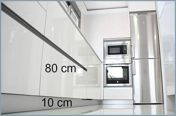 La Medida de los Muebles Bajos de Cocina | Muebles bajos de ...
