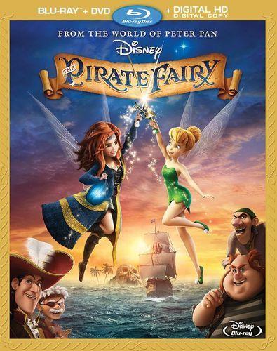 The Pirate Fairy Blu Ray Dvd 2014 Fairies Movie Pirate