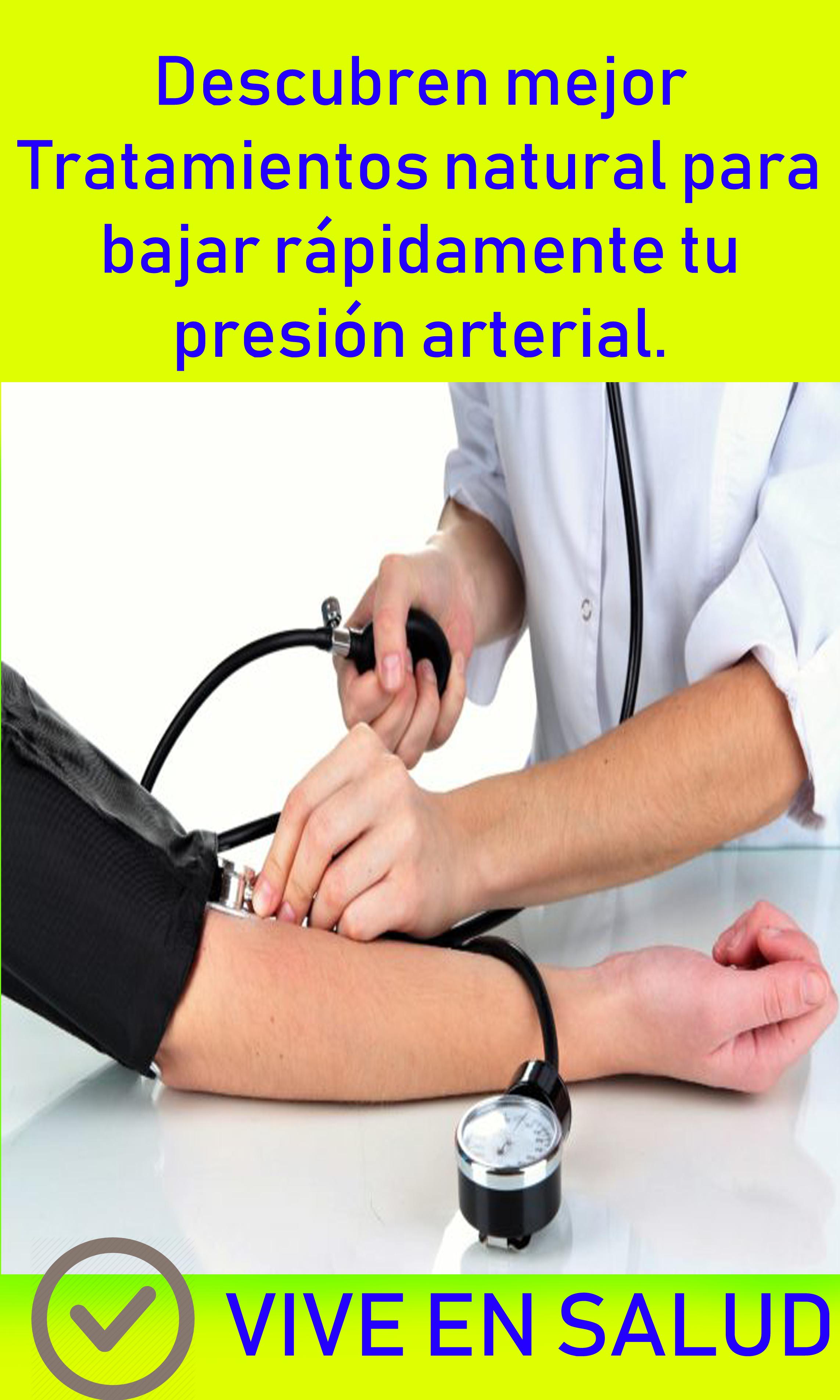 mejor dieta para bajar la presión arterial rápidamente