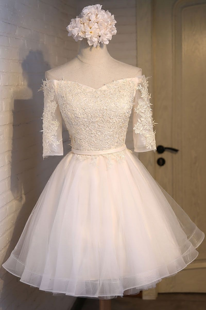 New short prom dress tulle sexy evening dresses short ball gown