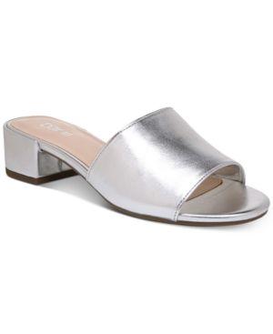 2c06cb668b82 Bar Iii Jane Block-Heel Slide Sandals