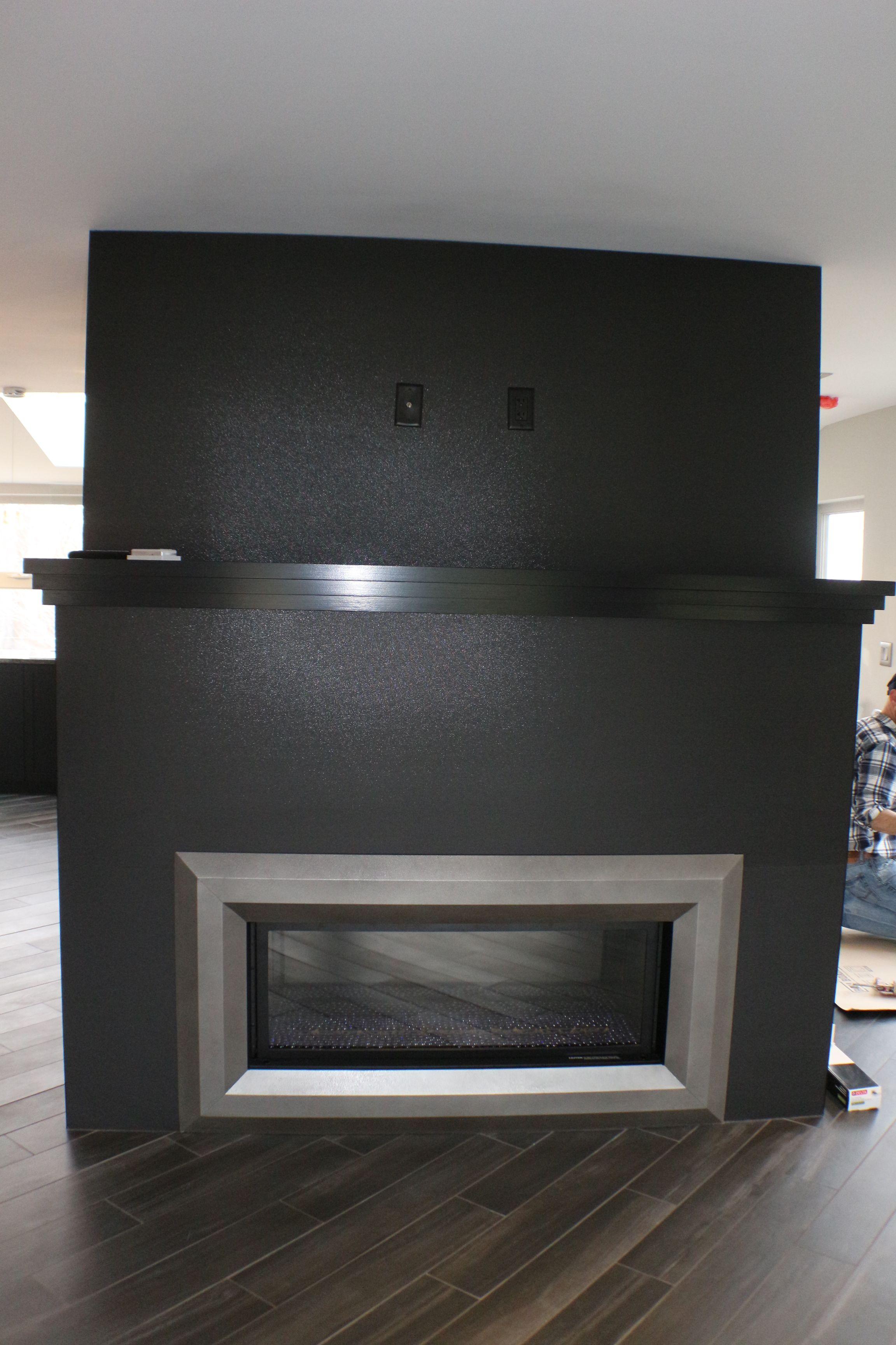 Modern laminam fireplace install laminam is a 1mx3m large format laminam is a 1mx3m large format thin porcelain tile panel dailygadgetfo Gallery