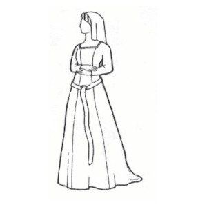 15th Century Kirtle Pattern | SCA Garb Inspirations