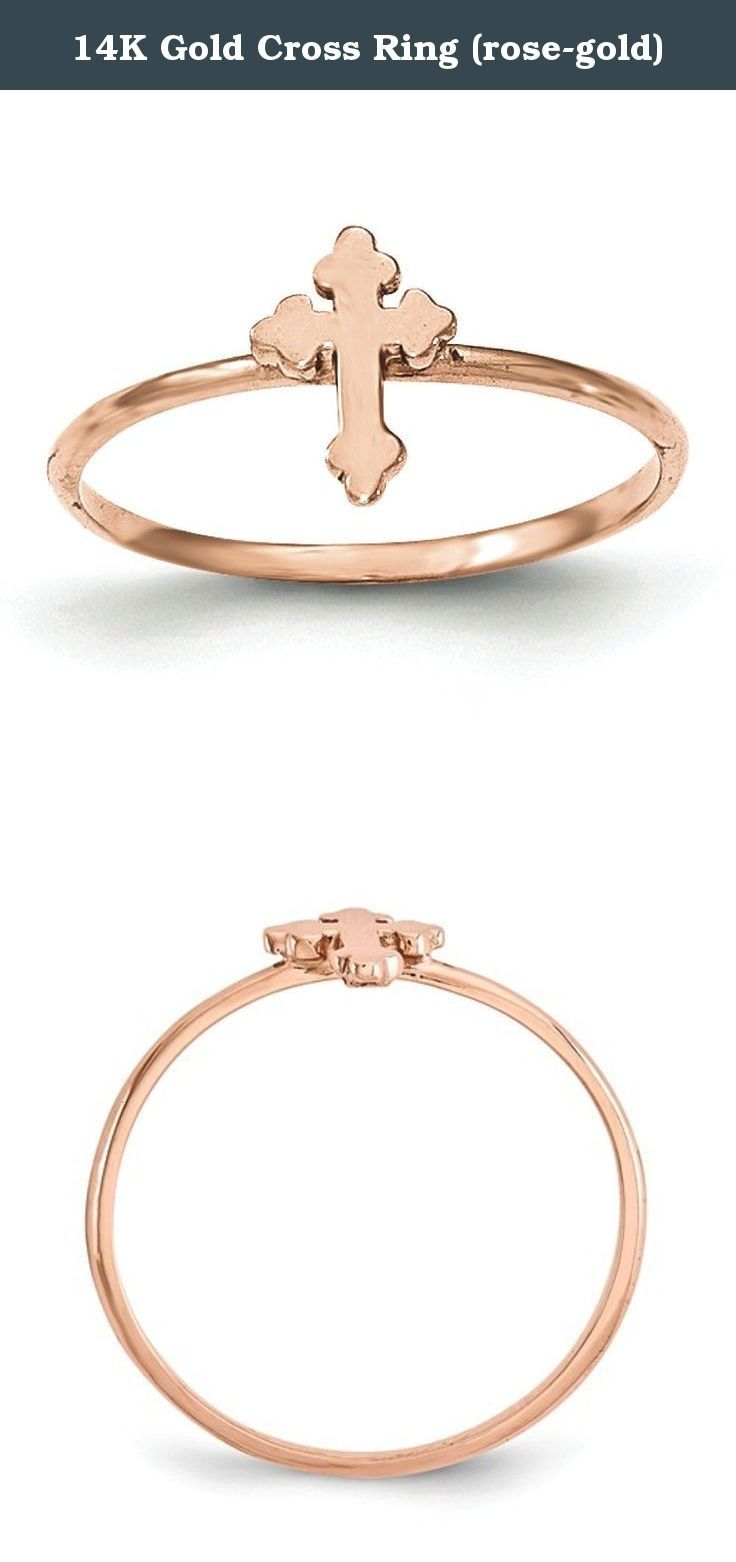 14K Gold Cross Ring rosegold Caring For Your Gold Jewelry To