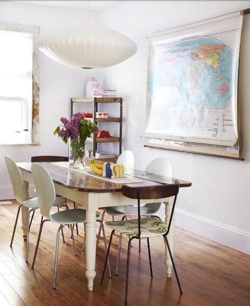 Tisch und Stühle | Einrichten und Wohnen | Pinterest | alte ...