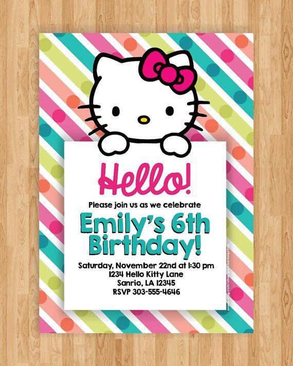 Hello kitty birthday party invitation 5x7 by pembertonprints 1200 hello kitty birthday party invitation 5x7 by pembertonprints 1200 filmwisefo