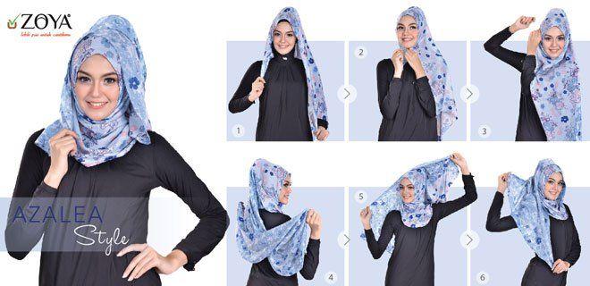 trend gaya hijab terbaru zo
