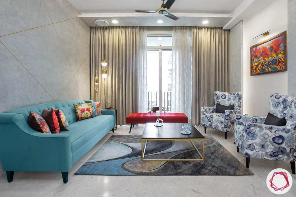 4bhk Home By The Best Interior Designers In Gurgaon Indian