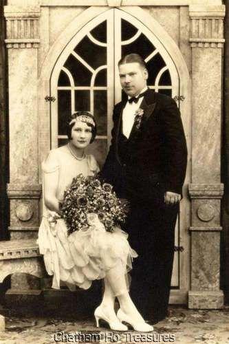 Wedding photo, 1920s.
