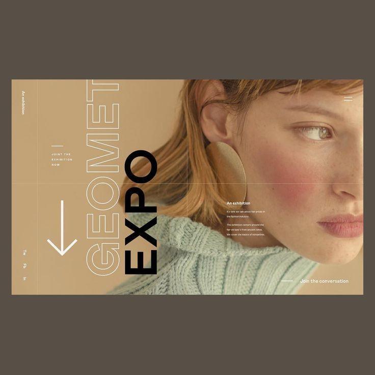 Expo hero layout #dribbble #dribbblers #userexperience #interface #websitedesigner #websitedesign #website #uxdesign #ux #uxdesigner #ui…