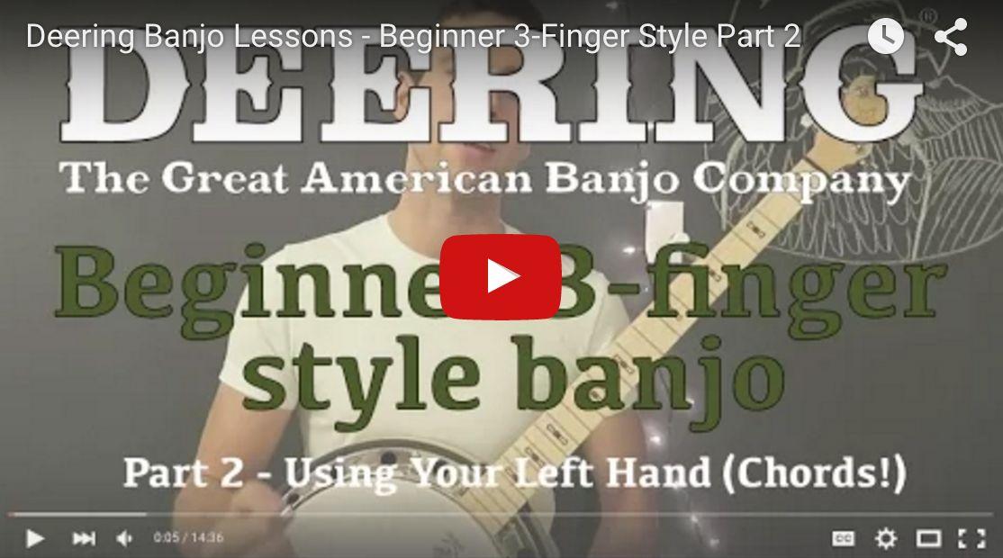 banjo finger playing begin deeringbanjos sullivan