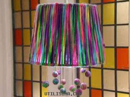 11 Pantallas para lamparas recicladas