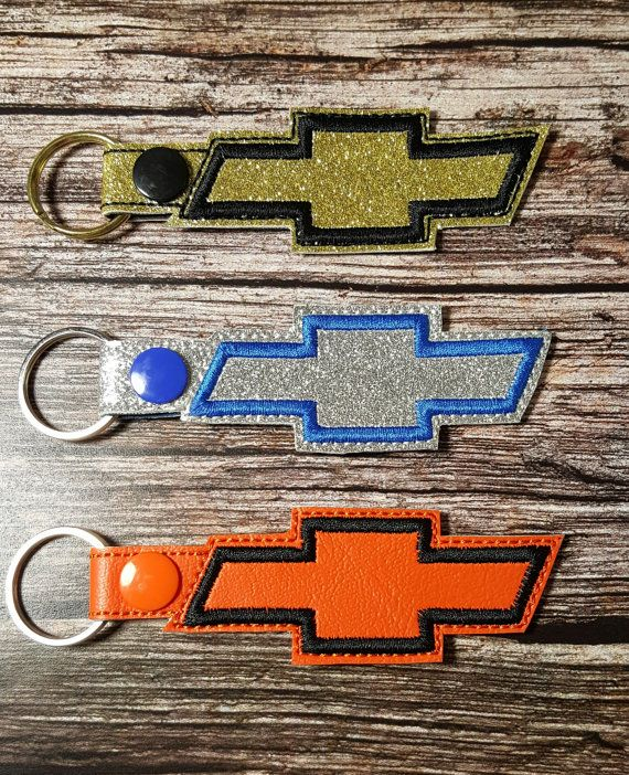CHEVROLET BOWTIE Key Chain Chevy Bowtie Key by FantasyFobsandMore