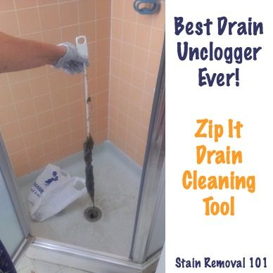 Simple Chemical Free Drain Unclogger Zip It Drain Cleaning Tool