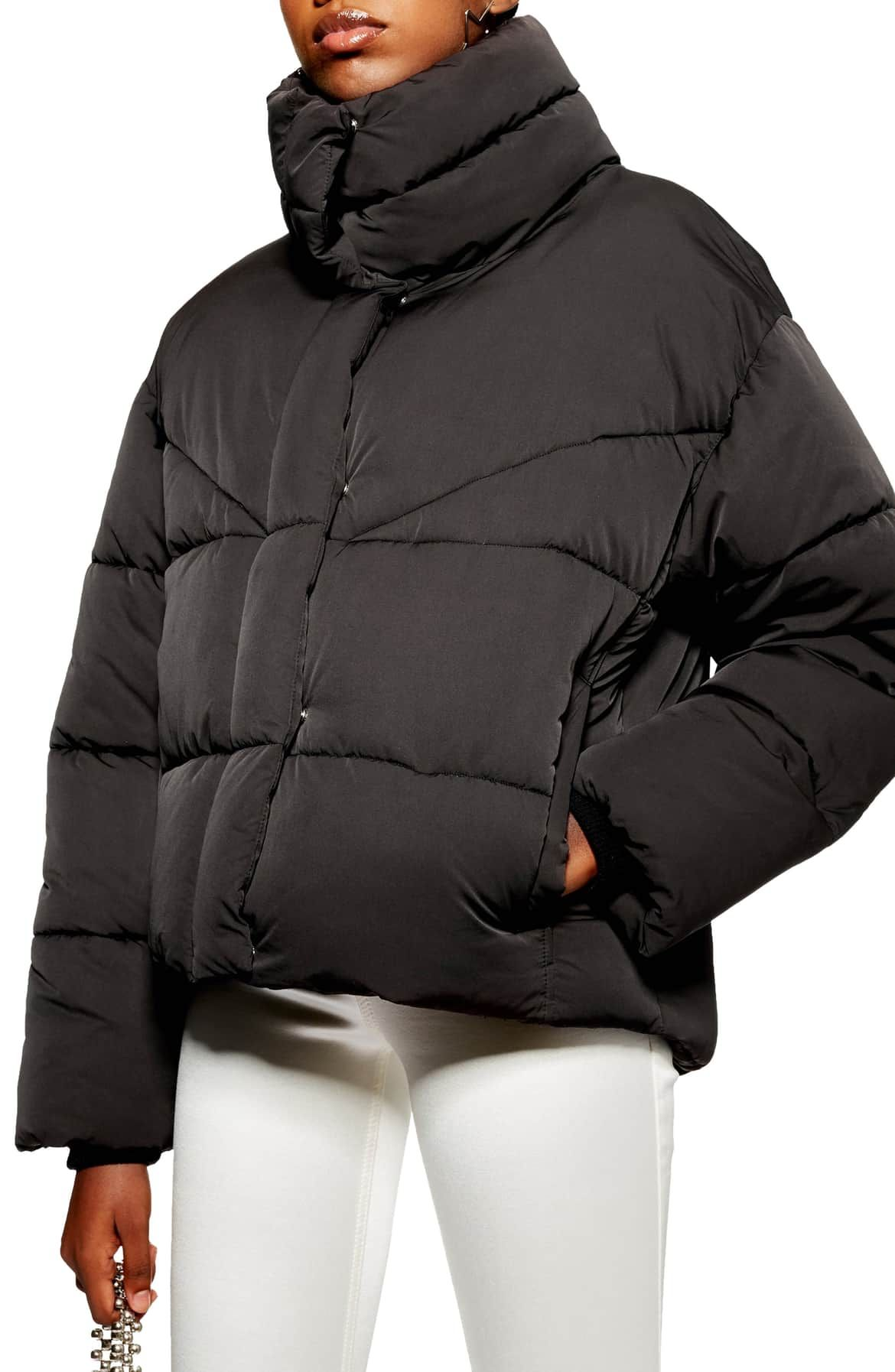 5045bfb2d Meghan Puffer Jacket, Main, color, BLACK | wishlist: outerwear ...