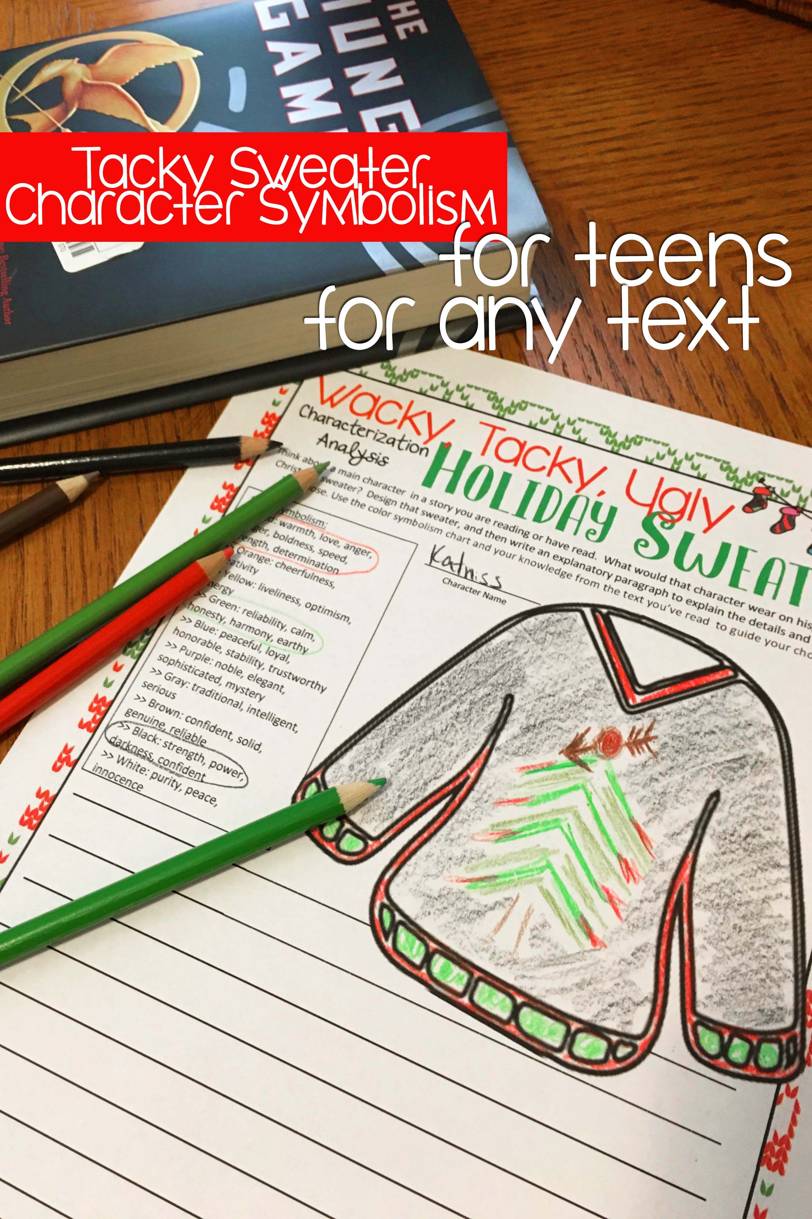 Wacky Tacky Ugly Christmas Sweater Event Pack Literacy Amp Writing Activities
