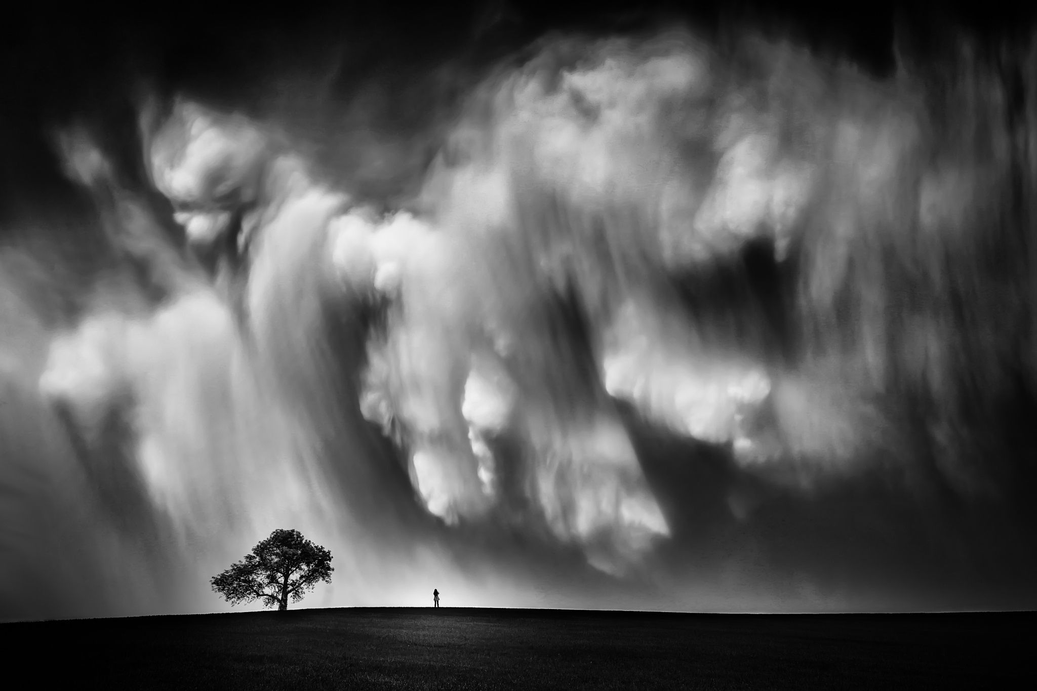 Photograph Storm Chaser-B&W by Like_He on 500px