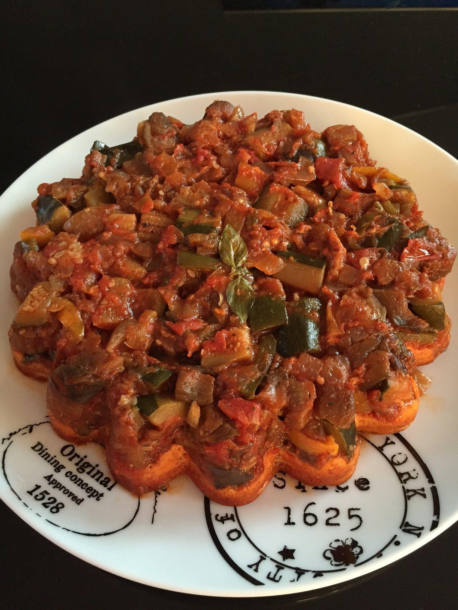 tarte tatin ratatouille chèvre légère - rachel et sa cuisine