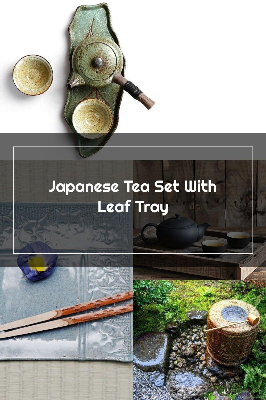 Japanese Tea Set With Leaf Tray En 2020