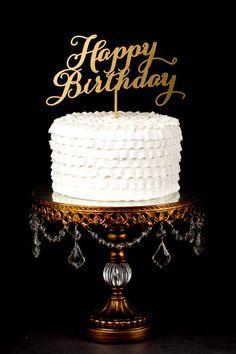 Make an Ice Cream Birthday Cake Happy birthday