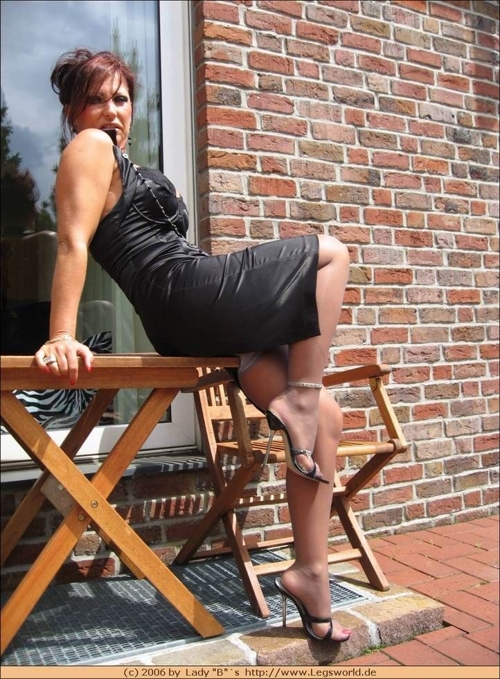 Mature lady barbara german