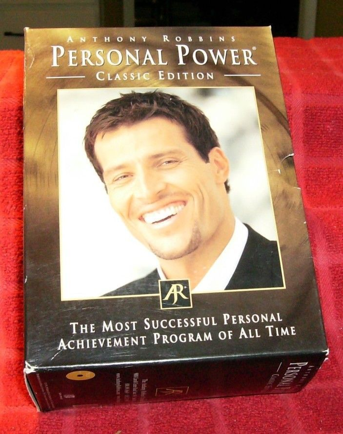 Tony Robbins, Personal Power Classic Edition, Day 1, 2, 4, 5, 6, 7 - tony robbins disc