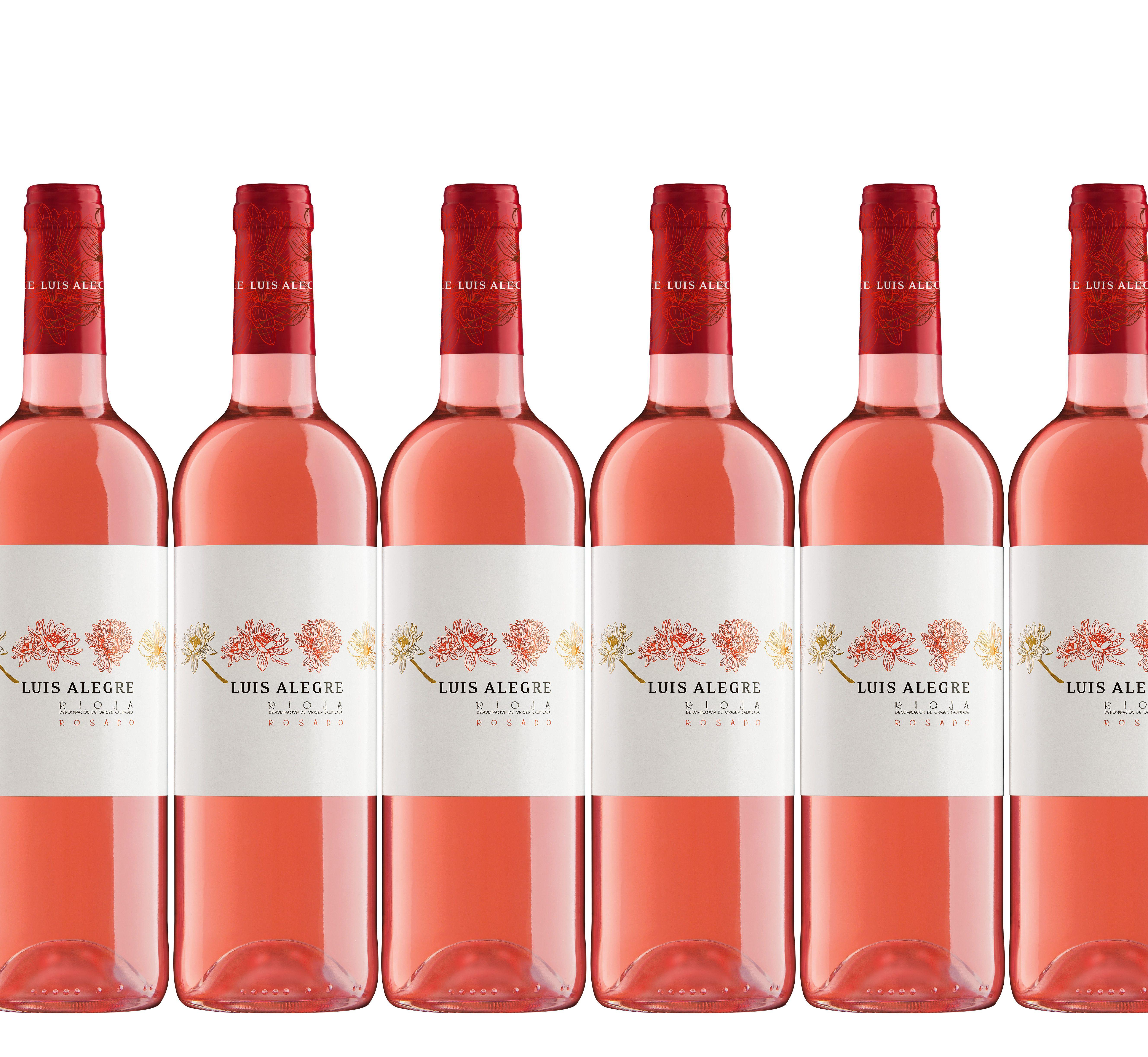 Y Tampoco Os Habiamos Presentado El Rosado Flores De Luis Alegre Vino Rosado Vinos Enologia