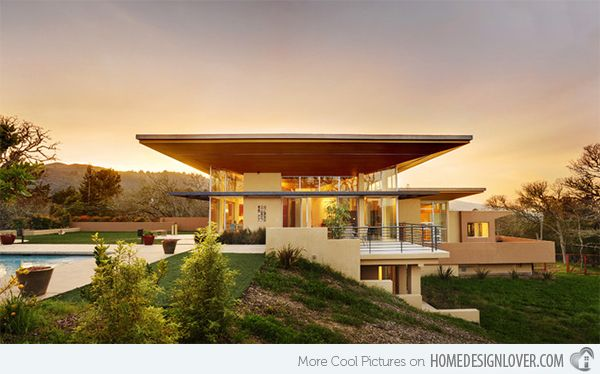15 modern contemporary homes on a hill modern contemporary