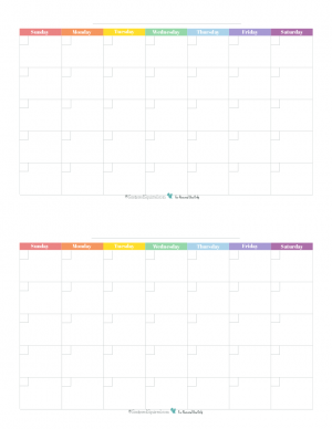 Printable Monthly Planner   Personal Planner Free Printables Arc Planner Blank Monthly