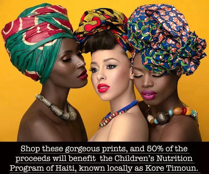 Trio - beautiful head wraps ~Latest African Fashion ...