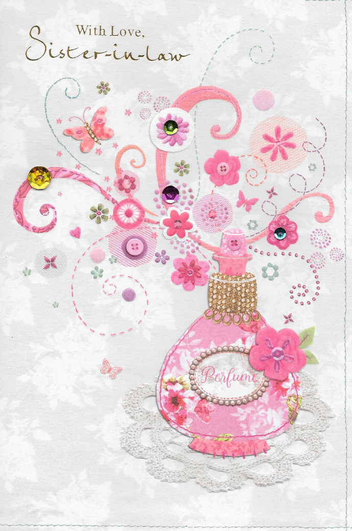 Isabels gardensister in law birthday cardperfume3d handmade isabels gardensister in law birthday cardperfume3d handmade bookmarktalkfo Image collections