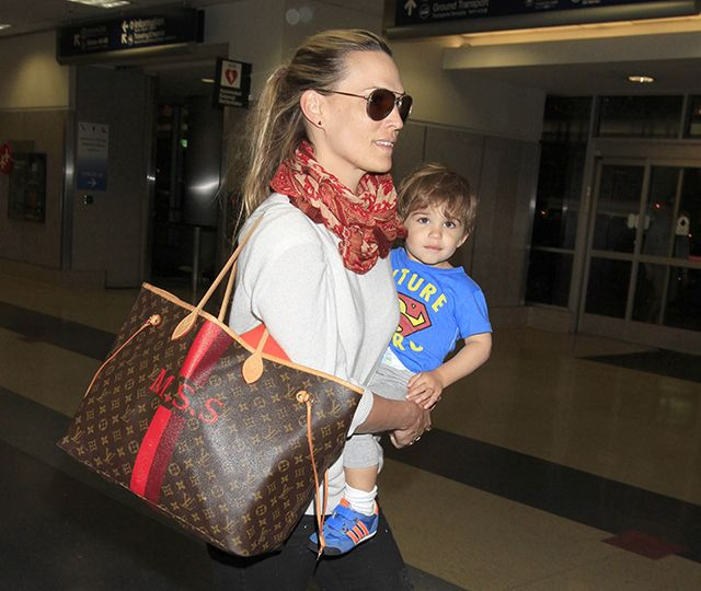 Image result for molly sims tote bag monogrammed