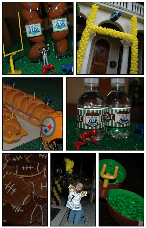 Superbowl/FootballTheme Decorations
