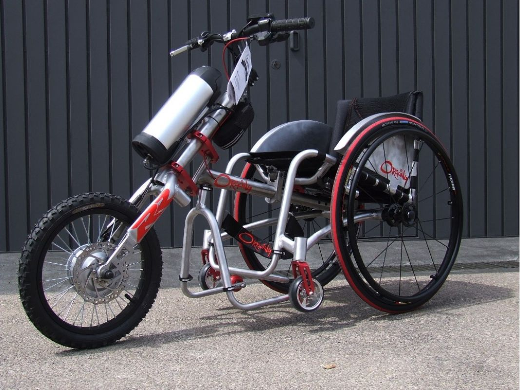 Elektrische Wohnzimmerkamine ~ Oracing rr elektrische aankoppel handbike electric attachable