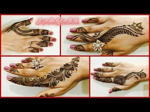 Mehndi Party List : Romantic girlish mehndi designs within mintstrendy henna