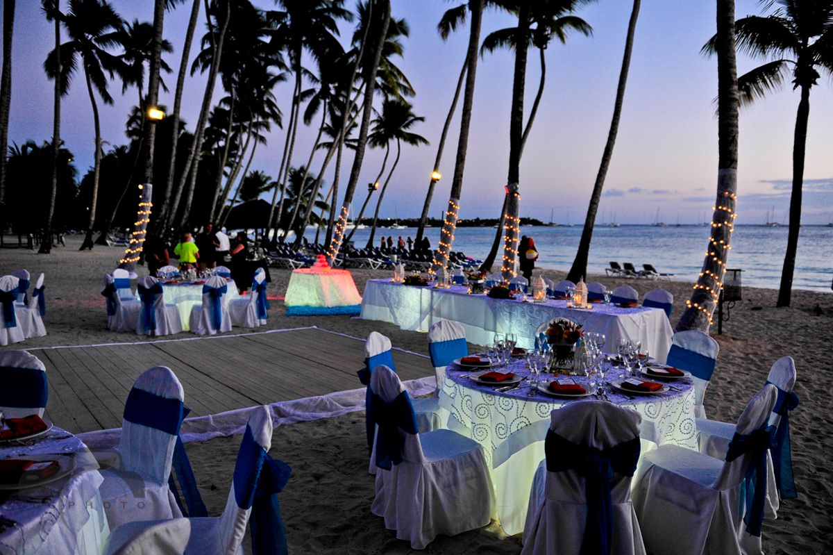 Emily Ryan S Wedding In Dreams La Romana Bayahibe Dominican Republic Table Lighting
