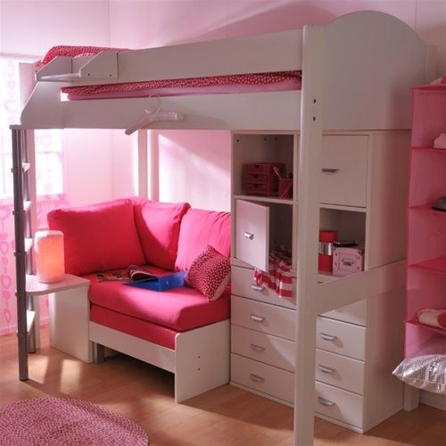 Futon Bunk Bed With Desk Foter Girls Loft Bed Bunk