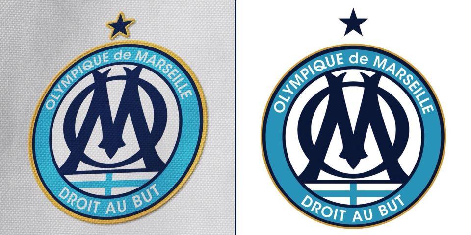 Nouveau logo olympique de marseille 2015 2016 design - Logo de l olympique de marseille ...