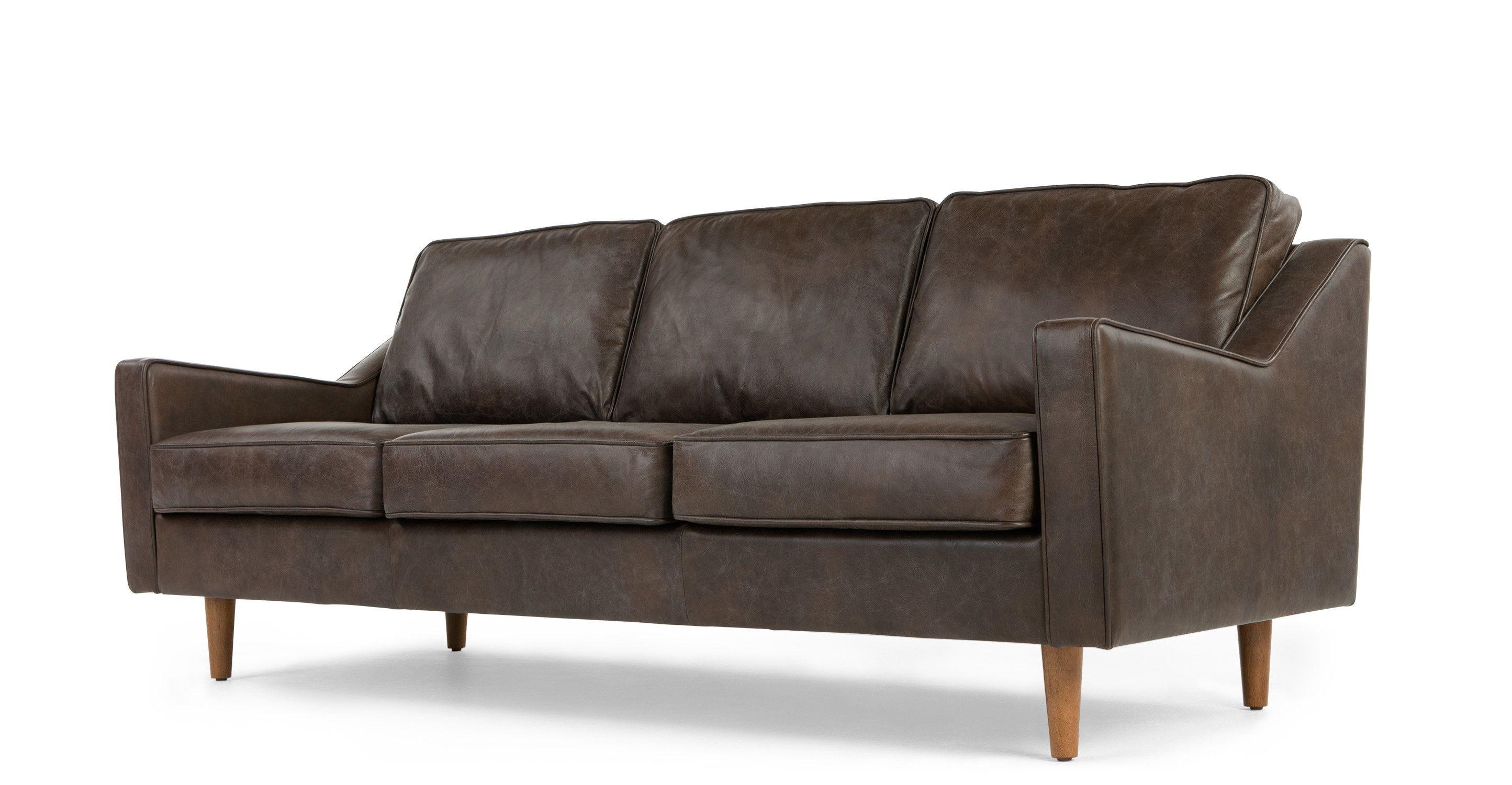 Best Dallas 3 Seater Sofa Oxford Brown Premium Leather 3 640 x 480